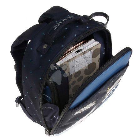 Školski pribor - Školská taška batoh Backpack Ralphie Sharkie Jeune Premier ergonomický luxusné prevedenie 31*27 cm JPRA021174_1
