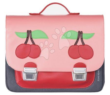 Školske aktovke - Školská aktovka Signature bag Midi Cherry Pink Jeune Premier ergonomická luxusné prevedenie 30*38 cm JPSDD21137