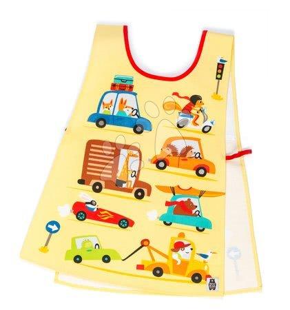 ThreadBear design - Șorț dublu de lucru cu mașină On the Move Tabard ThreadBear cu suprafață de protecție pentru vârsta 3-6 ani
