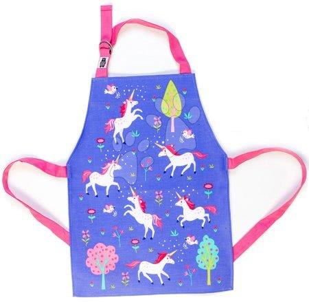 Zástery pre deti - Zástera pre deti jednorožec Lulu L'Unicorn Apron ThreadBear s ochrannou vrstvou od 3-6 rokov
