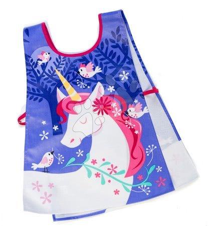 ThreadBear design - Șorț dublu de lucru unicorn Lulu L'Unicorn Tabard ThreadBear cu suprafață de protecție pentru vârsta 3-6 ani