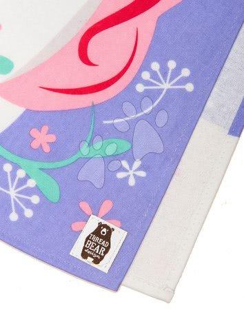 ThreadBear design - Șorț dublu de lucru unicorn Lulu L'Unicorn Tabard ThreadBear cu suprafață de protecție pentru vârsta 3-6 ani_1