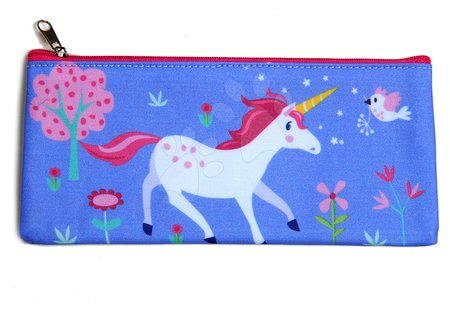 Šolske potrebščine - Peresnica iz platna samorog Lulu L'Unicorn Pencil Case ThreadBear z zaščitnim slojem od 3 leta