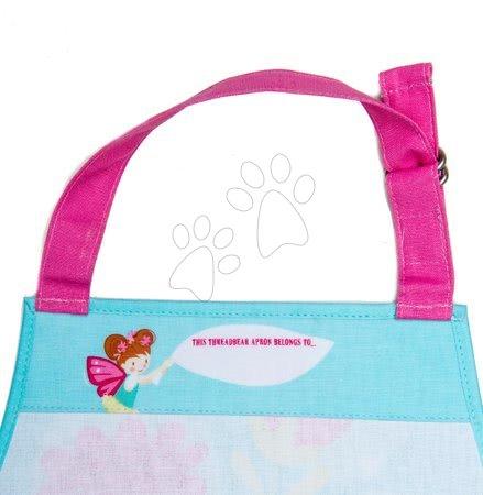 Zástery pre deti - Zástera pre deti víla so zajačikom Trixie the Pixie Apron ThreadBear s ochrannou vrstvou od 3-6 rokov_1