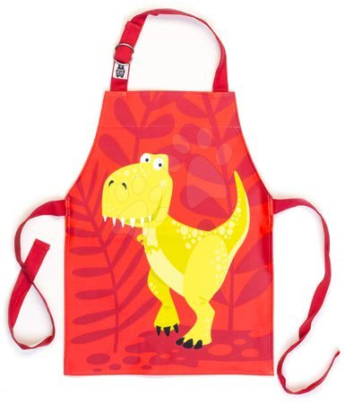 ThreadBear design - Șorț pentru copii Dinosaur Apron ThreadBear cu suprafață de protecție pentru vârsta 3-6 ani