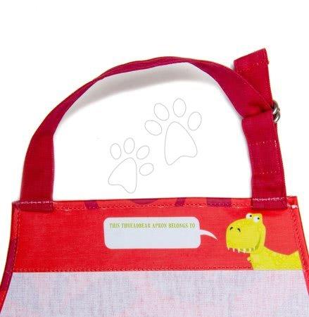 ThreadBear design - Șorț pentru copii Dinosaur Apron ThreadBear cu suprafață de protecție pentru vârsta 3-6 ani_1