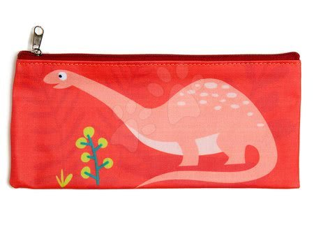 Peresnica iz platna Dinozaver Pencil Case ThreadBear z zaščitnim slojem od 3 leta