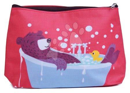 Detský kozmetický stolík - Toaletná taštička medveď Fred's Washbag ThreadBear z bavlny