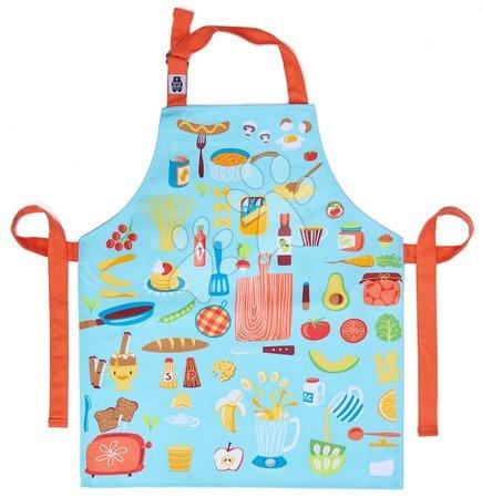 ThreadBear design - Șorț pentru copii haide să gătim Let's Cook Cotton Apron ThreadBear din țesătură de bumbac pentru vârsta 6-8 ani