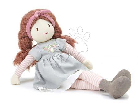 ThreadBear design - Păpușă de cârpă Alma Rag Doll Threadbear din bumbac moale cu păr lung împletit  în cutie cadou de la 0 luni_1
