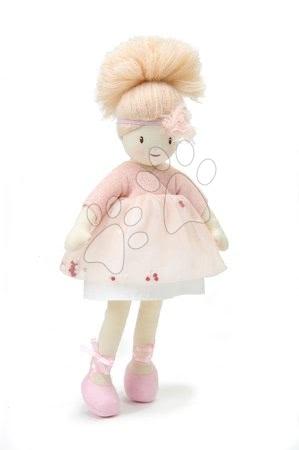 ThreadBear design - Păpușă de cârpă Amelie Rag Doll Threadbear din bumbac moale cu codiță blond în cutie cadou de la 0 luni