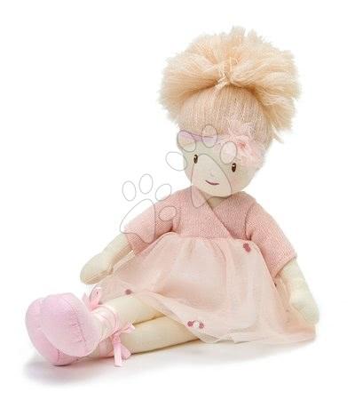ThreadBear design - Păpușă de cârpă Amelie Rag Doll Threadbear din bumbac moale cu codiță blond în cutie cadou de la 0 luni_1