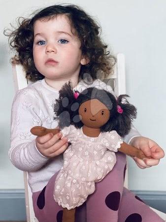 ThreadBear design - Păpușă de cârpă Mia Rag Doll Threadbear 35 cm din bumbac fin moale cu părul închis la culoare_1
