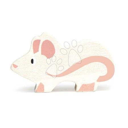 Fa egérke Mouse Tender Leaf Toys