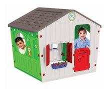Domček pre deti Galilee Village House Starplast od 2 rokov zeleno-béžový