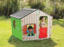Domčeky pre deti - Domček Galilee Village House Starplast zeleno-béžový od 24 mes_1