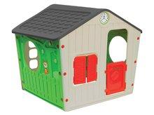 Domčeky pre deti - Domček Galilee Village House Starplast zeleno-béžový od 24 mes_0