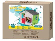 Domčeky pre deti - Domček Galilee Village House Starplast zeleno-béžový od 24 mes_3