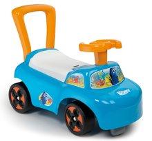 Odrážedlo a chodítko Auto 2v1 Hledá se Dory Smoby od 10 měsíců modro-oranžové