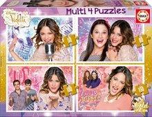 Gyerek puzzle Disney Violetta Educa 50-80-100-150 db 5 éves kortól