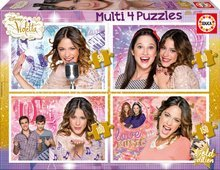 Puzzle Disney Violetta Educa 150-100-80-50 piese de la 5 ani
