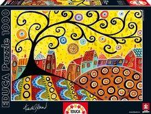 Puzzle Blooming Village, Karla Gerard Educa 1000 dielov od 12 rokov