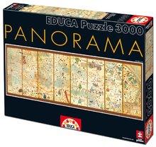 Puzzle Mappa Mundi 1375 Educa 3 000 db 13 éves kortól