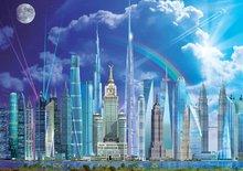 Puzzle 1000 dielne - Puzzle Genuine Tall Buildings Educa 1000 dielov od 12 rokov_0