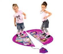 Staré položky - Dvojdielny koberec na tancovanie Violetta Smoby so zvukom a svetlom_3