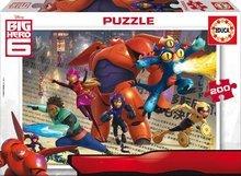 EDUCA 16338 cardboard puzzle Big Hero 6, 200ks
