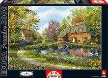 Puzzle Genuine Meadow Cottages Educa 5000 dílů od 15 let