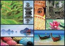 Puzzle 1000 dielne - Puzzle Colors of Asia Educa 1000 dielov od 12 rokov_0