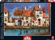 Puzzle La Cascina Sul Lago, Guido Borelli Educa 2000 dílů