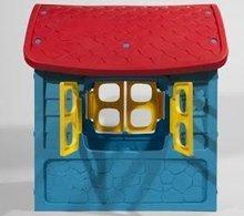 Domčeky pre deti - Záhradný domček Dohány s včielkou na streche modro-žltý od 24 mes_1