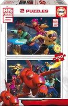 EDUCA 16337 cardboard puzzle Big Hero 6, 2x100ks