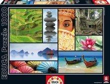 Puzzle Colours of Asia Educa 1000 db 12 évtől