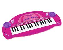 Detské piano Violetta Smoby elektronické ružové