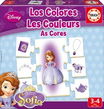 EDUCA 16231 puzzle The Colors Sofia the first 42ks