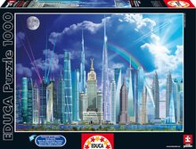 Puzzle Genuine Tall Buildings Educa 1000 de piese de la 12 ani