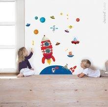 Magnetická dekorácia do detskej izby Glow in the Dark Magneti' Stick Janod od 3-6 rokov