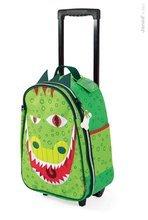 Školské tašky a batohy - Kufor T-Rex Dino Janod na kolieskach od 3 rokov_1