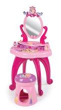 Kozmetické stolíky sety - Set kozmetický stolík Disney Princezné 2v1 Smoby so stoličkou a servírovací vozík s raňajkovou súpravou_9