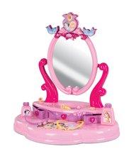 Kozmetické stolíky sety - Set kozmetický stolík Disney Princezné 2v1 Smoby so stoličkou a servírovací vozík s raňajkovou súpravou_12