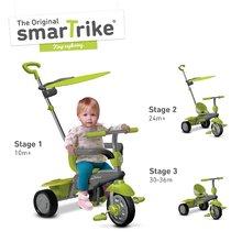 smarTrike 6190700 zeleno-šedá tříkolka Carnival Green Touch Steering 3v1 od 10 měsíců