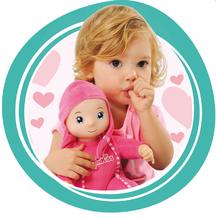 Bábiky od 9 mesiacov - Bábika so zvukom MiniKiss Smoby v ušianke 27 cm ružová od 12 mes_3