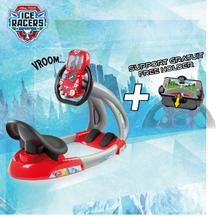 Trenažér pre deti - Elektronický trenažér V8 Cars Ice Driver Smoby so zvukom a svetlom_16