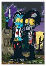 Puzzle 1000 dielne - Puzzle Zombies Silver Pulp Fiction Educa 1000 dielov od 12 rokov_0
