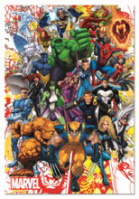 Puzzle Marvel Heroes Educa 500 dielov od 11 rokov