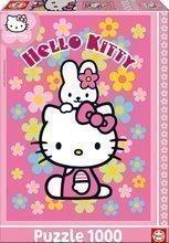 EDUCA 14455 PUZZLE 1000 dielov Hello Kitty 68 x 48 cm + FIX PUZZLE LEPIDLO
