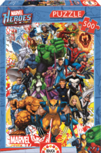 Puzzle Marvel Heroes Educa 500 db 11 éves kortól